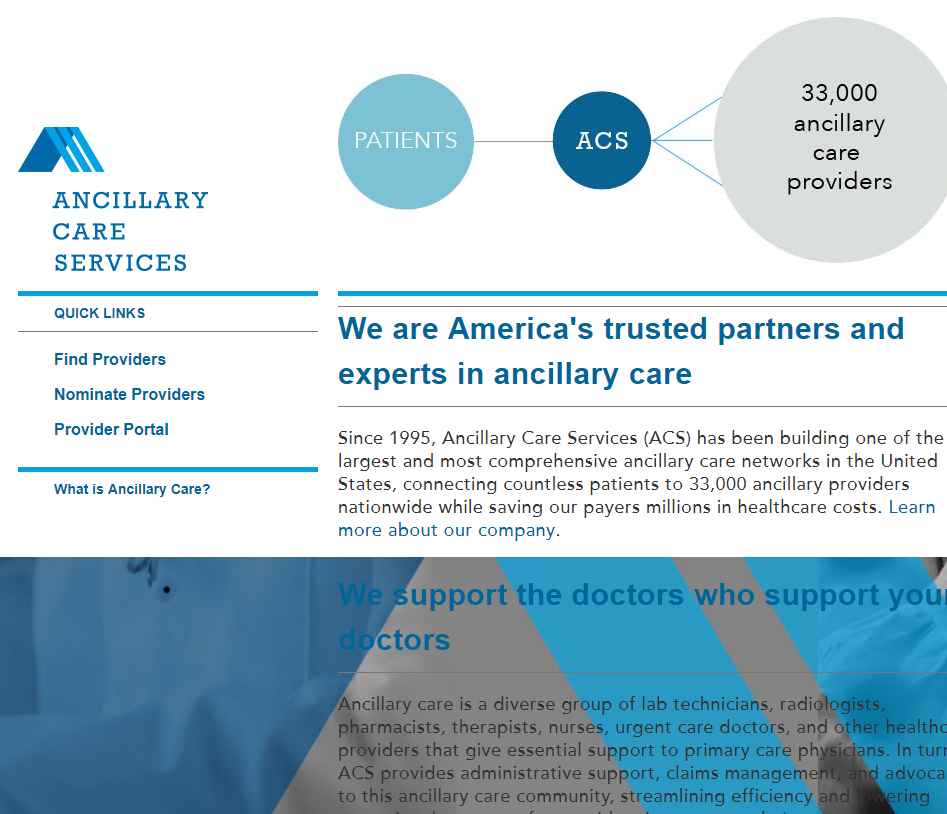 Ancillary Providers